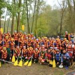Dokuz değirmen köyü rafting