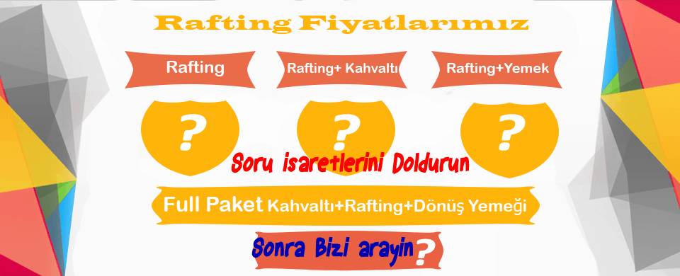 rafting fiyatları
