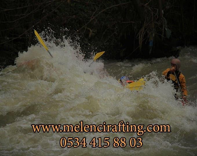 melen rafting tesisi ile rafting