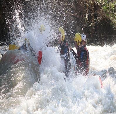 tek öğün seçenekli rafting